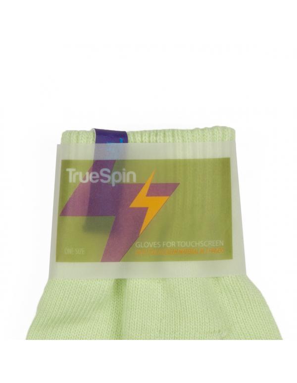 Городские перчатки TRUESPIN Touch Gloves Light Green - купить в Томске в интернет-магазине Bangshop