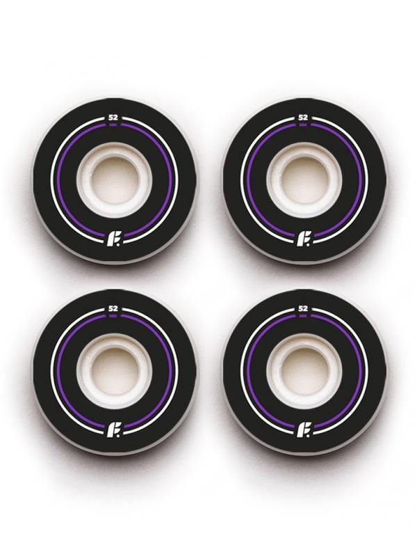 Комплект колес (BASIC 52 мм 100A Форма Sidecut )