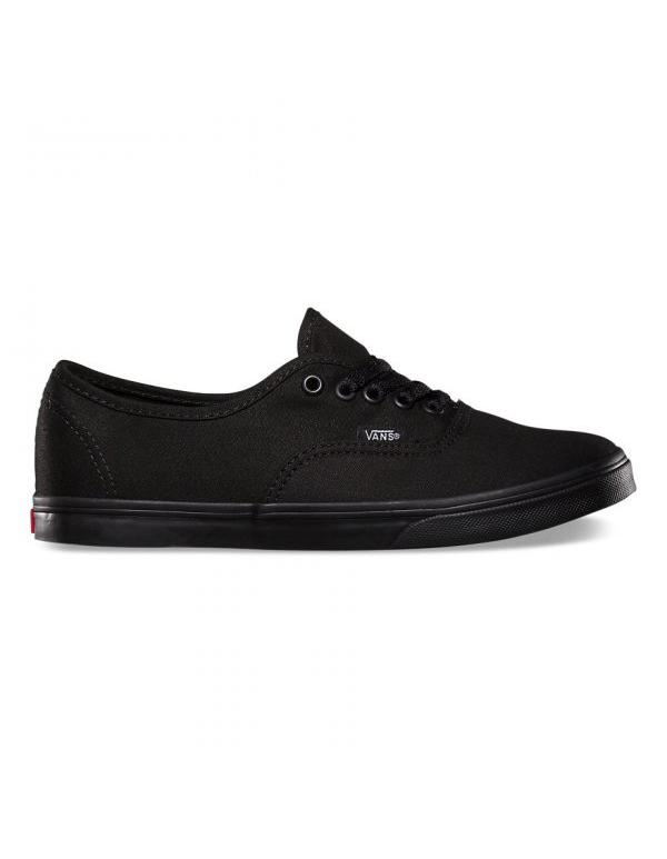Кеды Vans Authetic LoPro Black Black