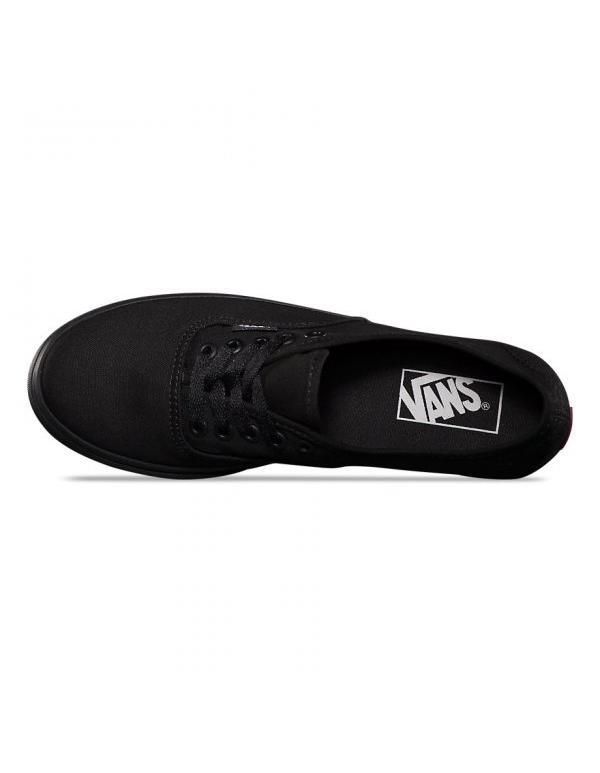 Кеды Vans Authetic LoPro Black Black - В наличие