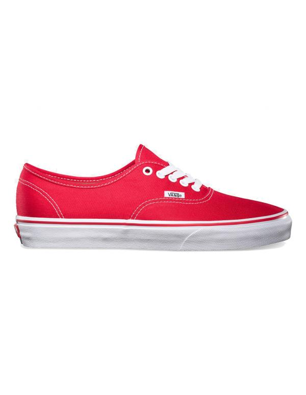 Кеды Vans Authetic Red