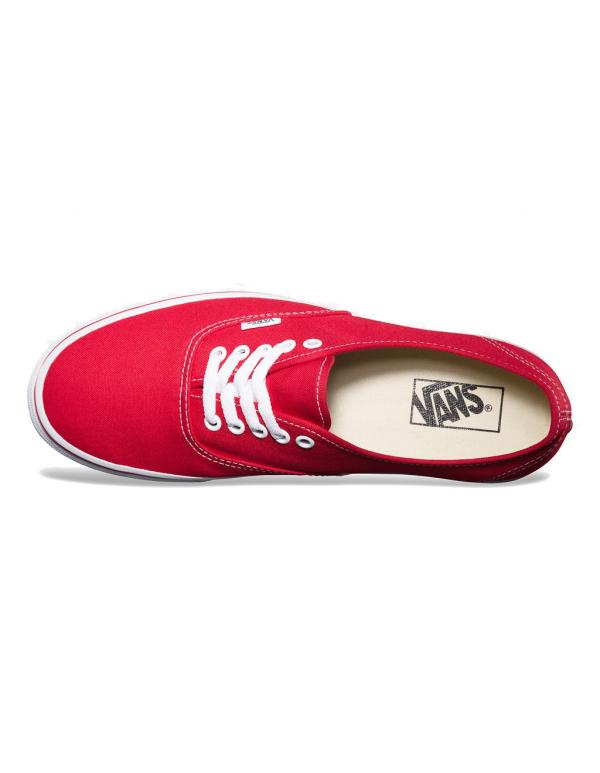Кеды Vans Authetic Red - В наличие